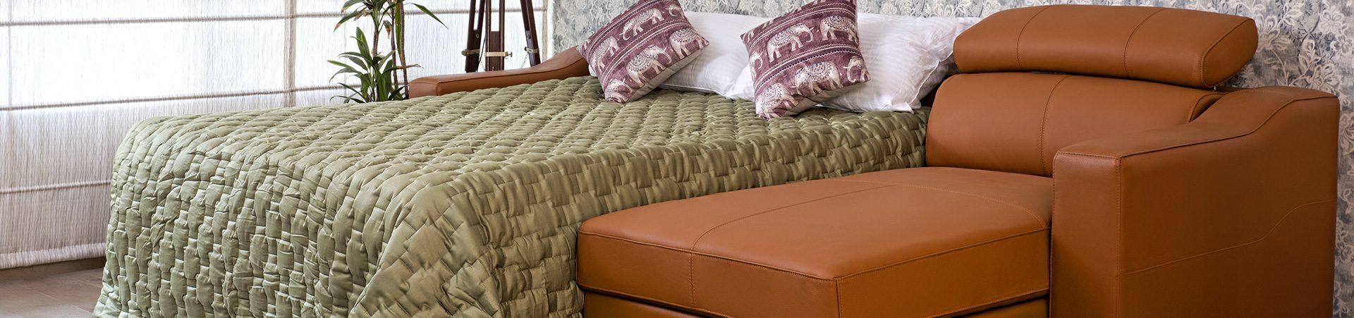 L Shape Sofa Cum Beds